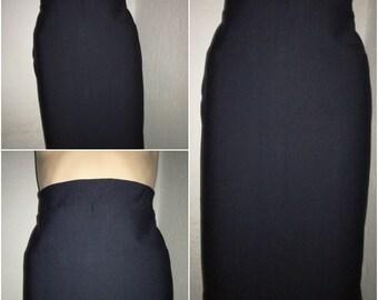 Black skirt, spandex skirt