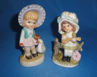 Set of Two Figurines