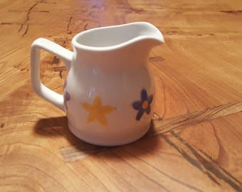 Flowers cream jug