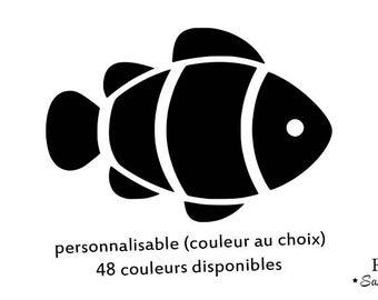 clown fish flex fusible