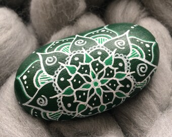Mandala stone - Meditation stone - Chakra stone