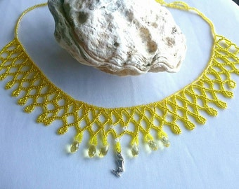 Crystal Bliss Mermaid Necklace