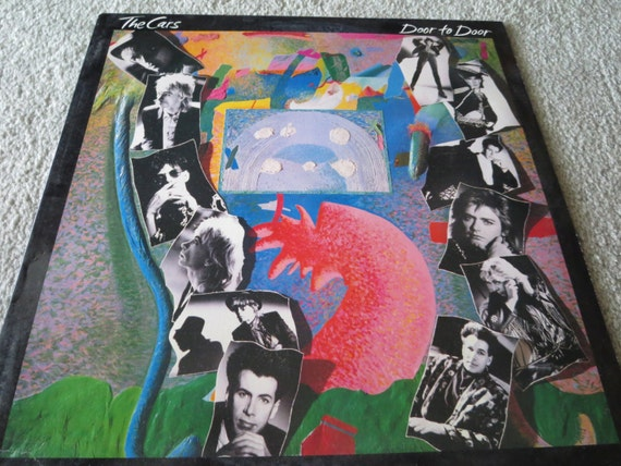 David Jones Personal Collection Record Album - The Cars - Door To Door