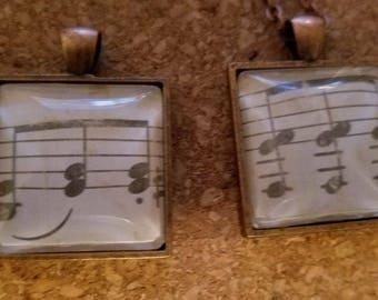 Musical Notes Pendants