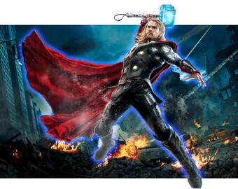 Backlit Thor display