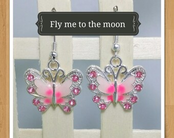 BUTTERFLY EARRINGS many colours