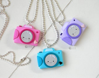 Camera kawaii,  photography, Necklace