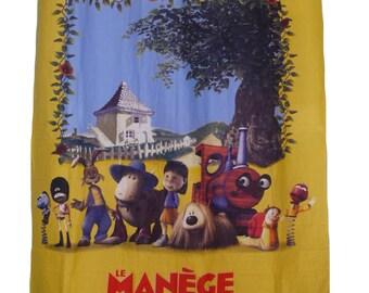 """Child curtain """"LE MANÈGE ENCHANTÉ"""""""