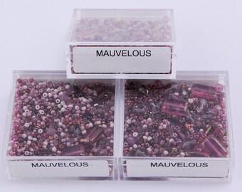 Mauvelous Bead Box