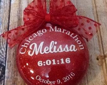 26.2, 13.1, Marathon Gift, Gift For Her, Marathon ornament, Marathon memorabilia, finisher gift, Marathon, Congratulatory Marathon Gift
