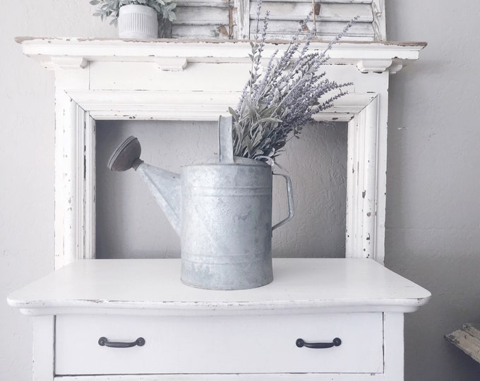 Vintage Watering Can // Garden Decor