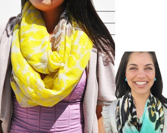 Infinity Scarves: Safari Collection