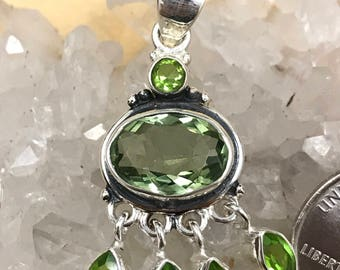 Peridot Pendant Necklace