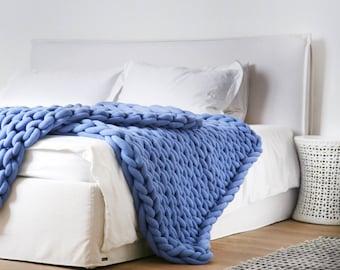 "Large Ohhio Braid Blanket 50"" x 70"""