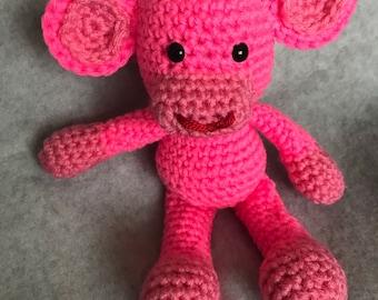 Funky little Monkey by crochetbyloraine