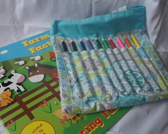 Children's Colouring Tote Bag