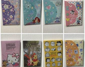 Sanrio/Disney Mini Envelopes
