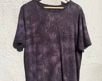 Organic cotton t-shirt natural dyed #8