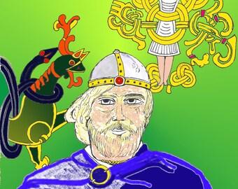 Haakon, the Good - King of Norway - ICON - ORIGINAL