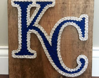 Kansas City Royals String Art