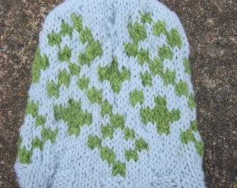 Blue and Green Children's Hat