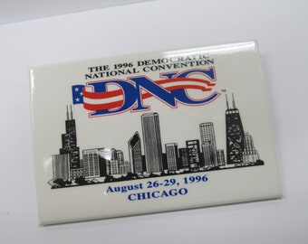 1996 Democratic National Convention Pin W #901