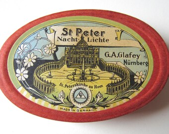 St. Peter Nachtlichte - German Floating Mini Candle Souvenir