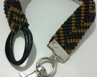 Macrame bracelet for men