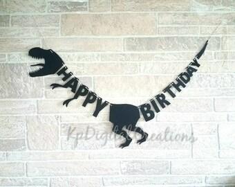Dinosaur birthday banner, Dinosaur birthday, Dinosaur party, Jurassic world, Dino party decor, Jurassic world birthday, juassic park party