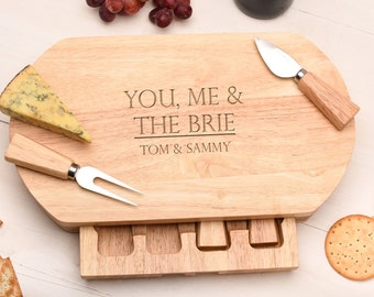 Wedding Gift Personalised Cheese Board Gift For The Couple,  Wedding Gift CB