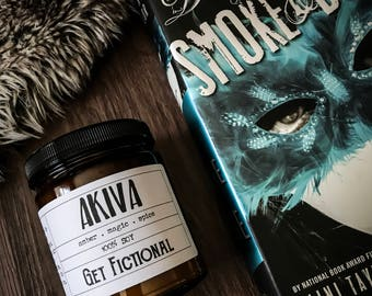 Akiva {Daughter of Smoke and Bone} Soy Candle