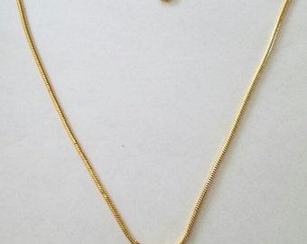 Gold Crystal Cluster Necklace