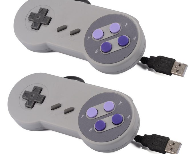 SNES Style USB Wired Additional Controller For Our Retropie Game Systems