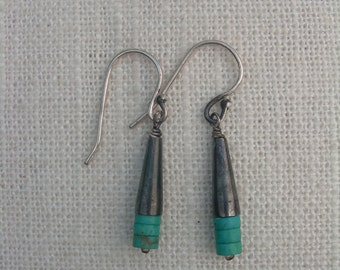 PEEK Sterling Silver Turquoise Earrings
