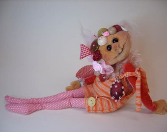 Comforter souls Cloth doll eBook PDF with pattern