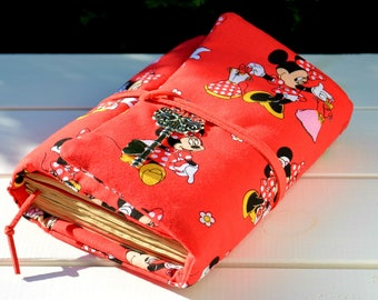 Mickey mouse Disney art Disney Mini mouse Travel journal Journal Notebook Sketchbook Personalized journal Custom journal Writing journal
