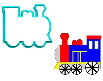 Train Engine Cookie Cutter