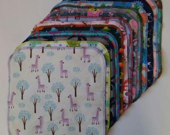 unpaper towels, kids mystery variety set, reusable napkins, reusable towels, cloth paper towels, kids napkin, lunch box napkin, new mom gift