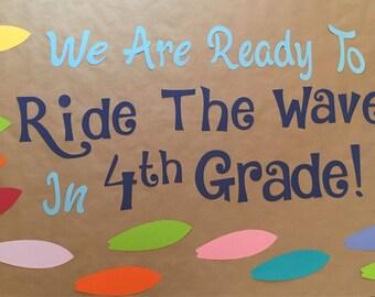 Bulletin Board- Ride The Wave