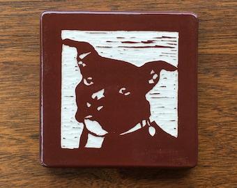 Mya Pitbull Ceramic Tile
