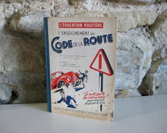 1950s French Highway Code book