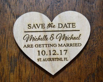 Sale Price! Wedding Save The Date Magnet, Wood Save The Date Magnet, Save The Date Magnet, Personalized Save The Date Magnet, Wedding Invita