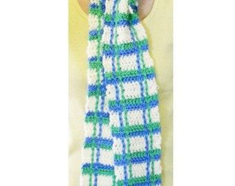 Picnic Scarf - PDF Crochet Pattern - Instant Download