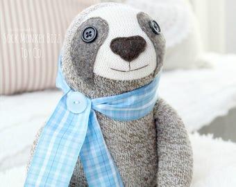 New Design, Sock Monkey Sloth Doll Childs Toy