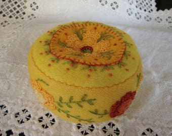 Citrus pincushion