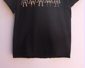 Gwar Double Sided Black Short Sleeve Knit Shirt