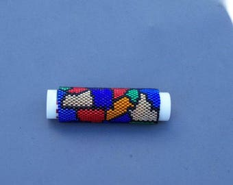 Stained Glass Lip Balm Cover Pattern