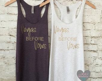Vegas Before Vows Tank Top. Bride Tank. Vegas Bachelorette Tanks. Bridesmaid. Wifey Tee Shirt. Wifey. Bride Tank Top.