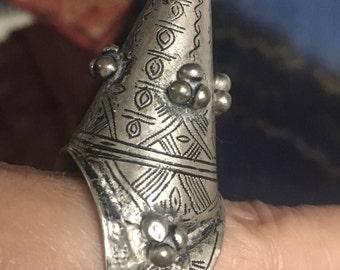 Old Mauretanian Ring, Inner Diameter 2 cm, US size 10 1/2