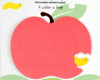 Apple Sticky Notes / Removable Adhesive Paper